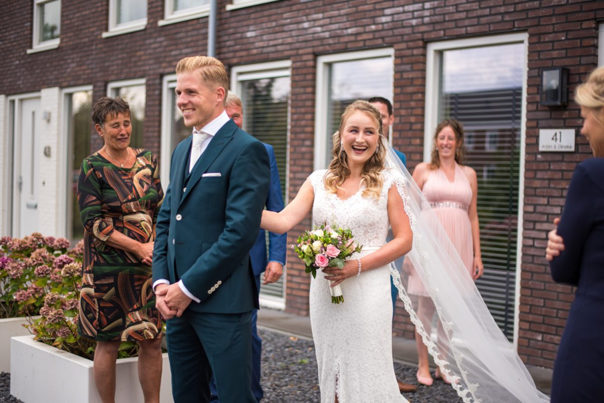 Dineke en Arjan - Trouwen bij Rietschans - trouwfotografie door Ana