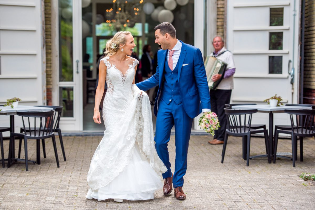 Nienke en Damiro - Trouwen in Sneek - trouwfotografie door Ana