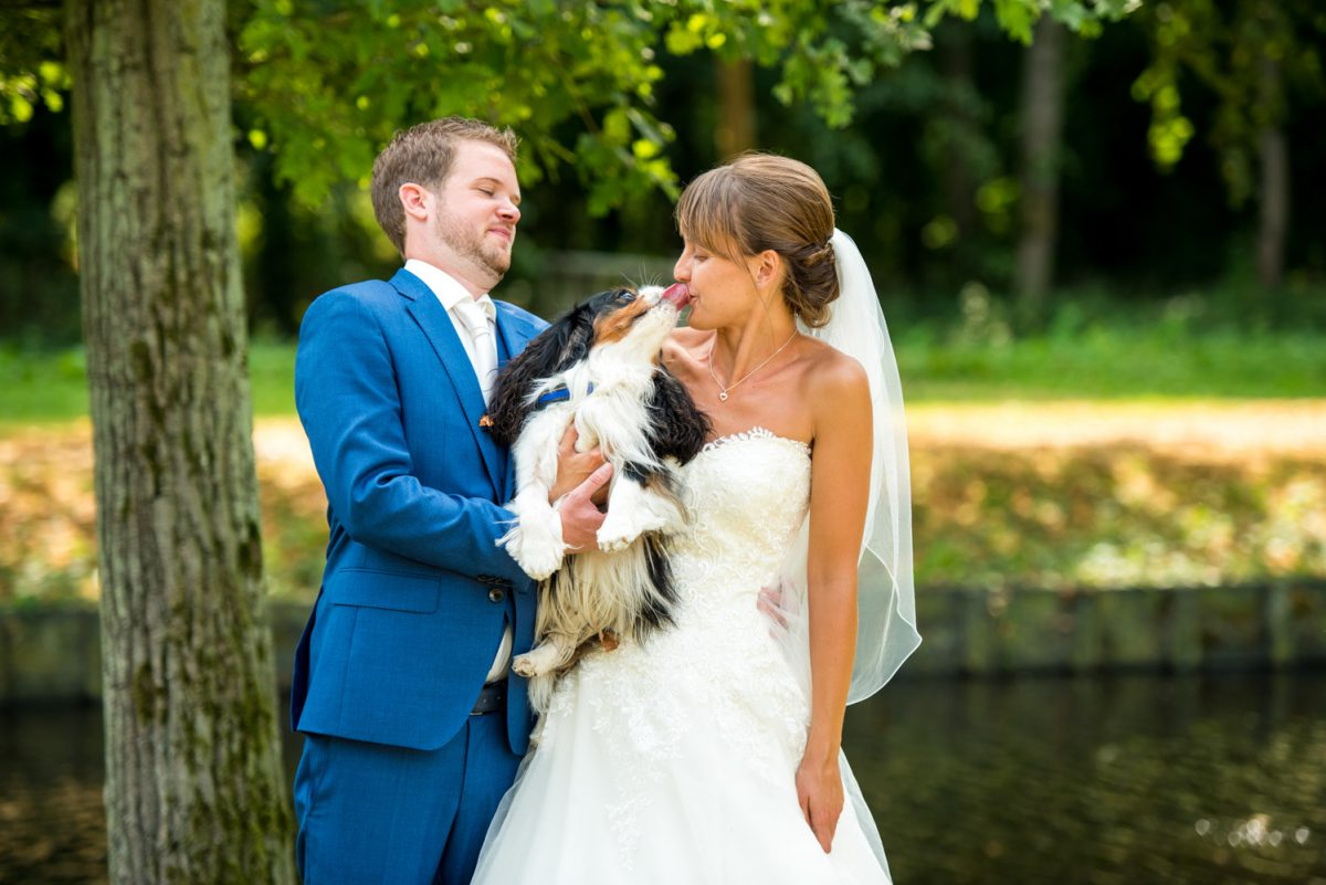 Annie en Folkert-Jan - Bruiloft bij Epemastate - trouwfotografie door Ana