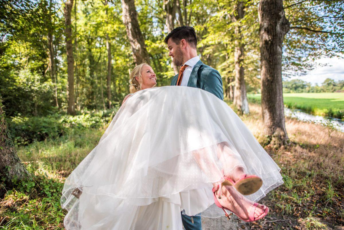 Esther en Jan - Trouwen in Park Vijversburg - trouwfotografie door Ana