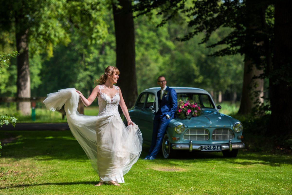Geert-Jan en Esther - Trouwen op Landgoed Oranjestein - trouwfotografie door Ana