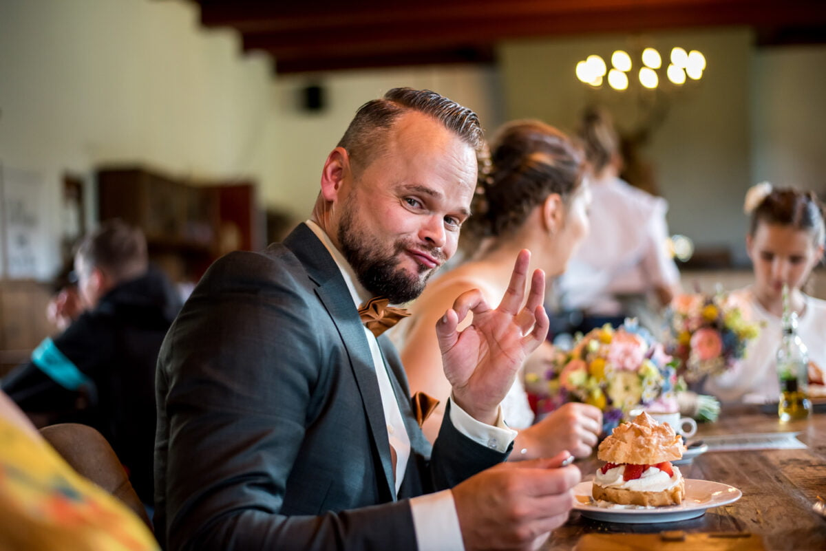 Michelle en Jethro – Bruiloft bij Kasteel Cannenburch
