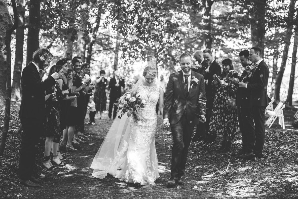 Jacqueline en René – Trouwen bij Landgoed Lemferdinge